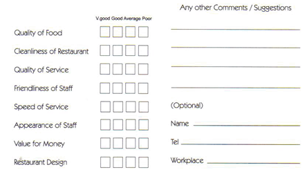 How Comment Cards Mislead You | TalkToTheManager