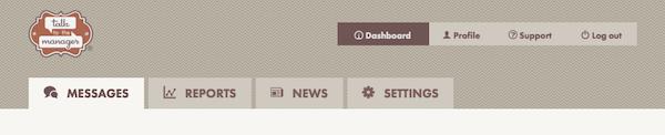 Dashboard tabs