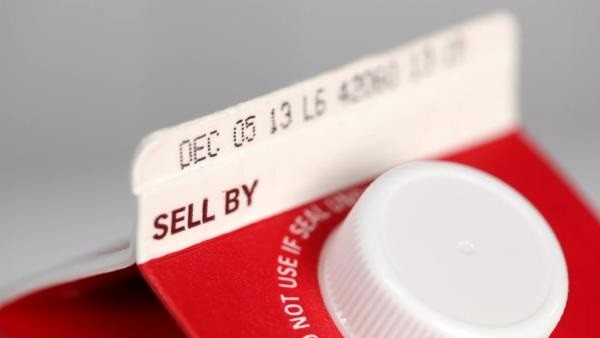sell by date on milk carton