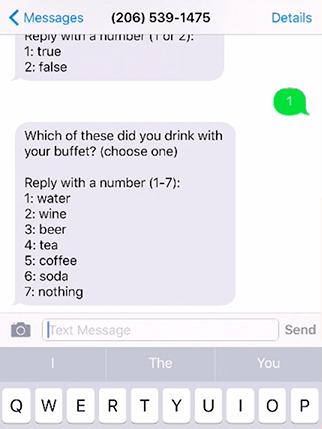 Text Message Survey - TalkToTheManager