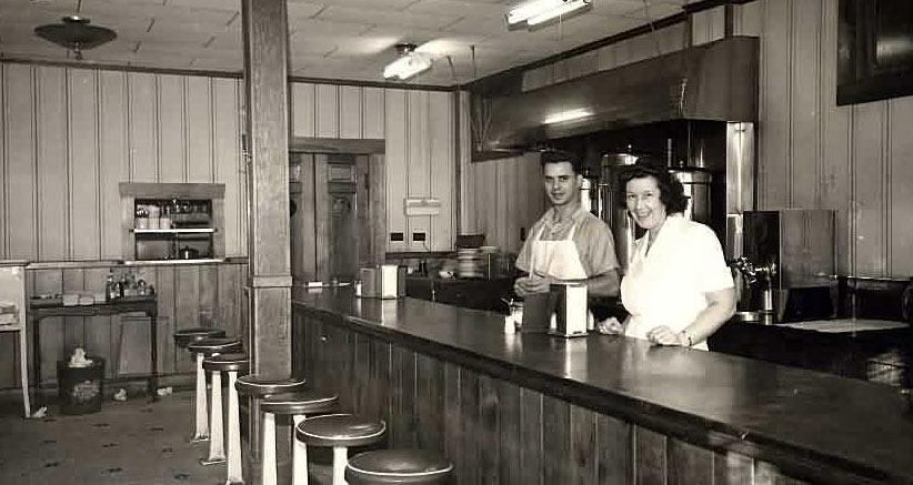 restaurant long ago